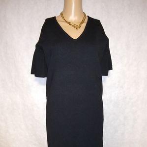 Lauren Ralph Lauren Bell Sleeve Black Dress NWT